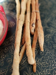 Rosemary and Olive Breadsticks Grissini