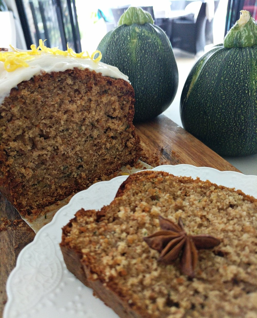 Spiced and Moist Zucchini Loaf